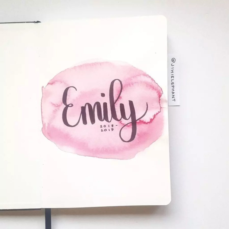 pink title Emily