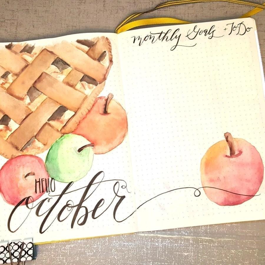 35 Beautiful Autumn Inspired Bullet Journal Spread Ideas