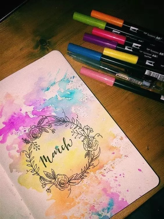 Hello March from Pinterest