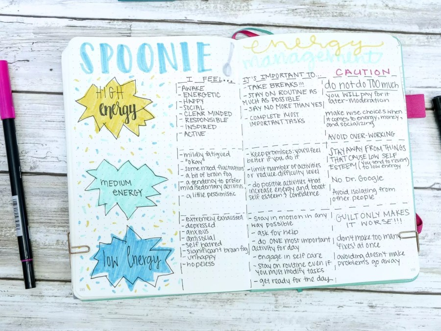 January Bullet Journal Feature | Rachel of @planningmindfully