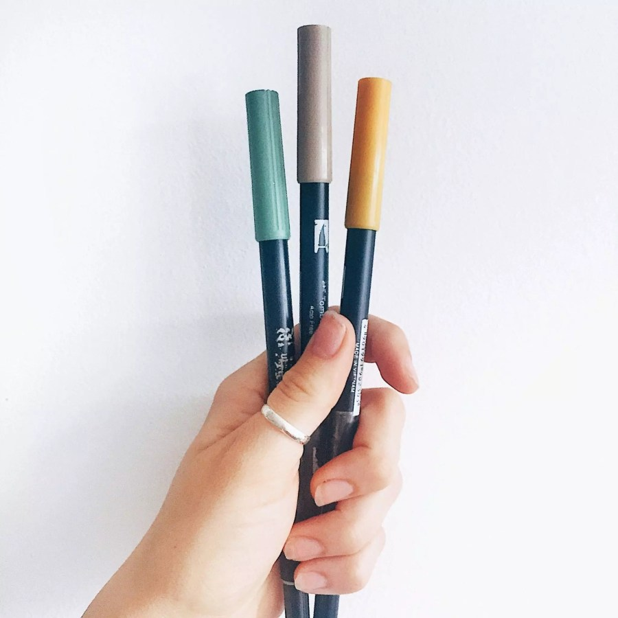 How to Choose a Colour Palette for your Bullet Journal