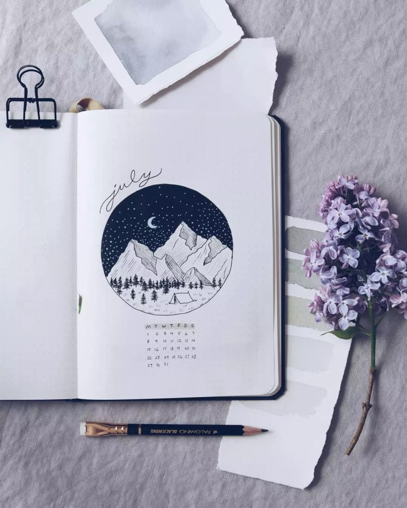 July Mountainous Night by @shaydacampbell