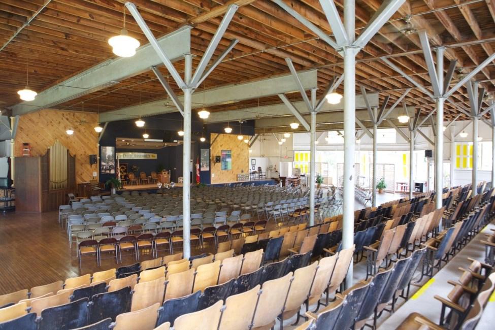 Lily Dale Auditorium