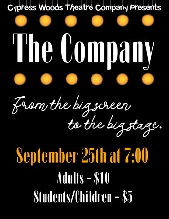 Company show poster