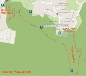 Map of the second part of the walk. (Apologies, it turns out that clicking to custom URLs in a gallery is not possible.)