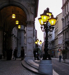 street lamps - Budapest
