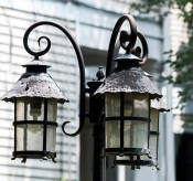 street lights - New Orleans