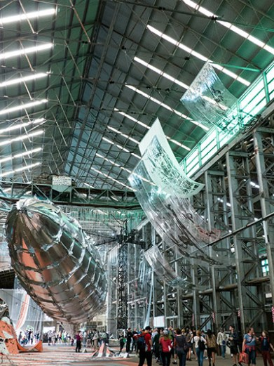 """Willing to be vulnerable"", by Lee Bul"