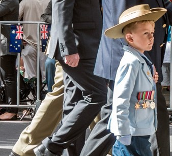 Young boy with medals (1)