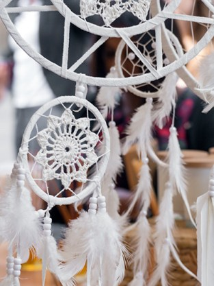 Dreamcatchers and perfumes