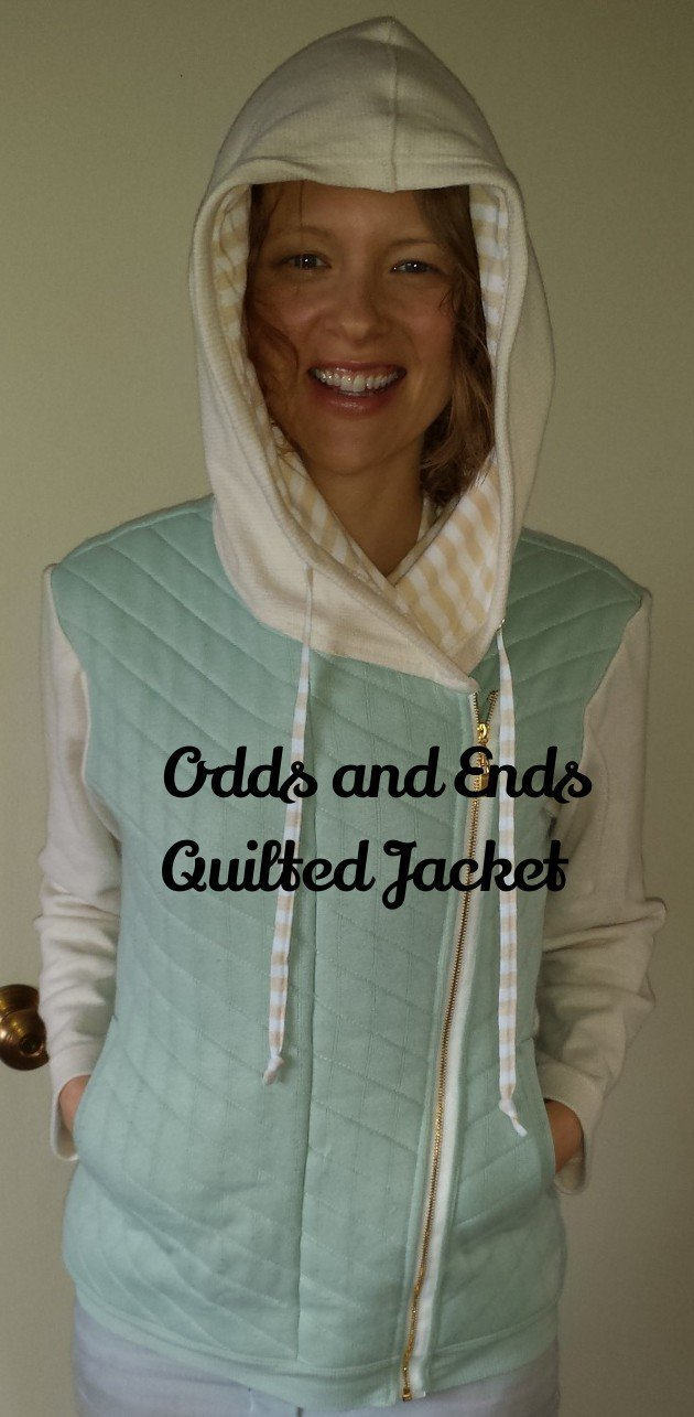 quilted jacket: Elizabeth Made This