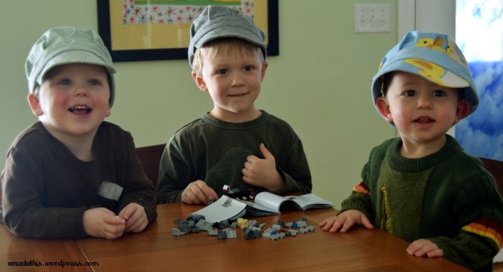 sewing hats for kids