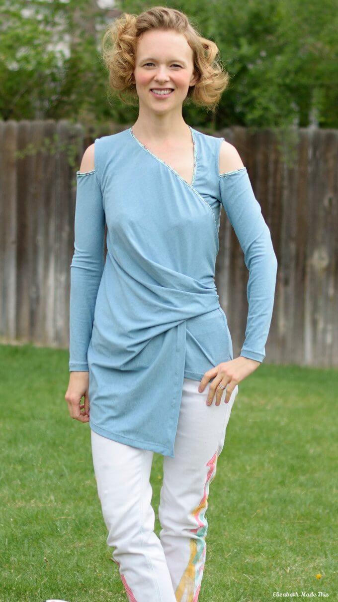 kommatia patterns bodysuit