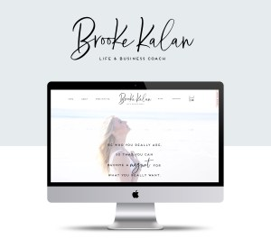 Elizabeth McCravy Life Coaching Website Design
