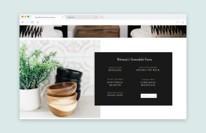 Showit website template for interior designers and home stagers, Showit website example for interior designers by Elizabeth McCravy - EM Shop templates for photographers, videographers, coaches, and creatives!