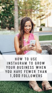 Instith 100,000 followers won't necessarily work the same for someone with 1,000 followers. In this episode, I'm sharing Instagram strategy for the business owners who are NEWER to the follower game — with less than 1,000 followers, specifically. If that's not you, no worries! You'll still be able to glean a lot from this episode all about Instagram strategy!