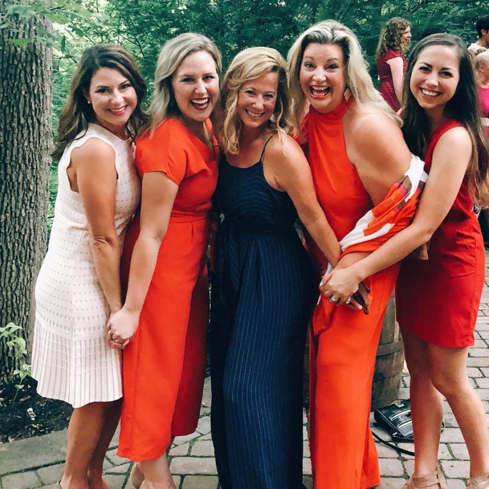 How to find first clients in your business. Inspired Retreat - Casual Photo with Elizabeth McCravy and Friends