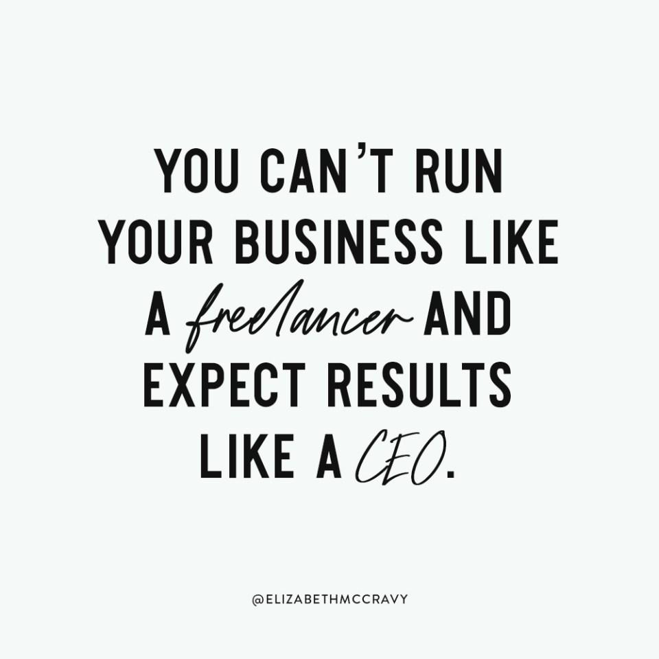 Breakthrough Brand - Run your Business like a CEO - Elizabeth McCravy