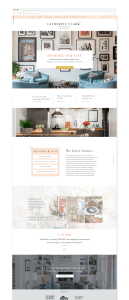 Showit templates for Interior Designers