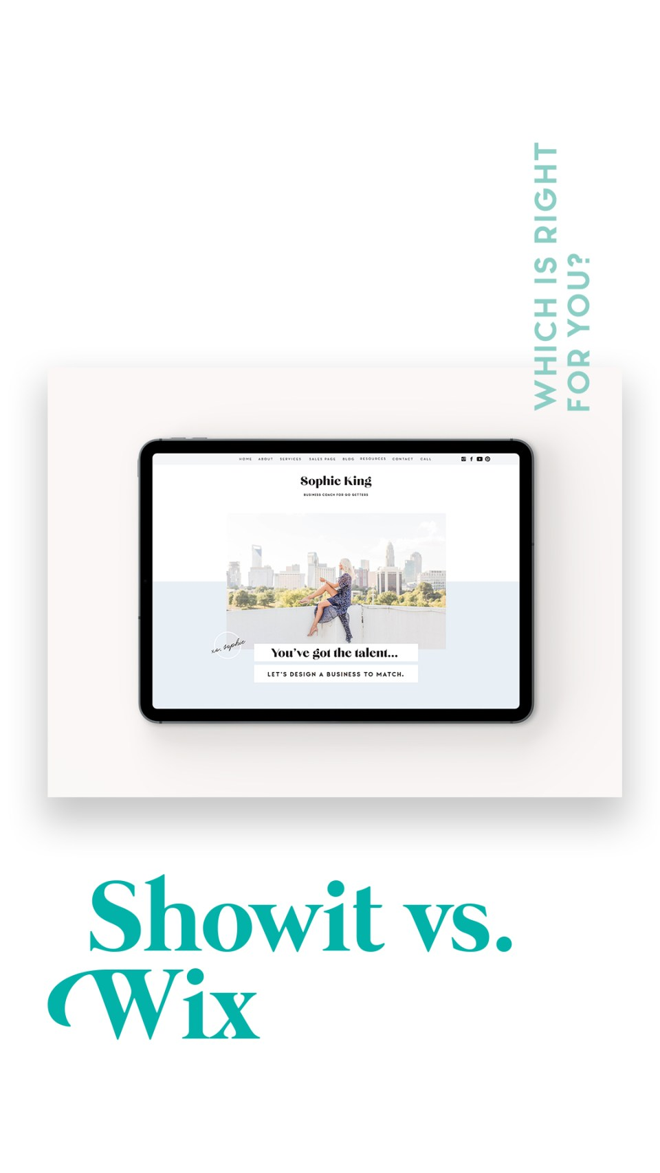 Showit vs Wix - what its like to switch to Showit