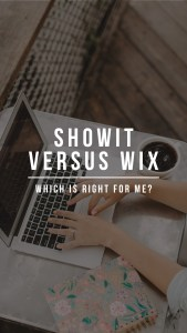 What it's like to switch from Wix to Showit