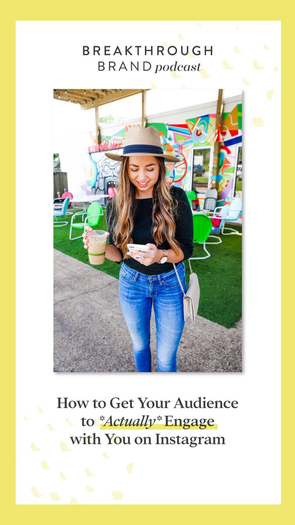 Learn how to get your audience to actually engage with you on Instagram. We're talking about 5 ways to get more comments, more DMs and overall more interaction from your followers.