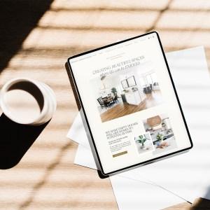Blissful Design Studio - Interior Design Website Showit