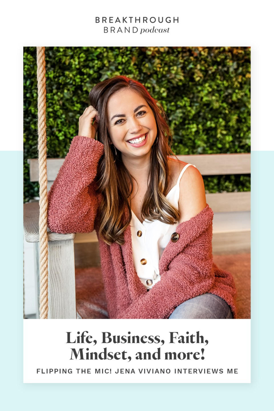 Listen to this Q&A with Elizabeth McCravy on the Breakthrough Brand Podcast all about life, business, mindset, and more!