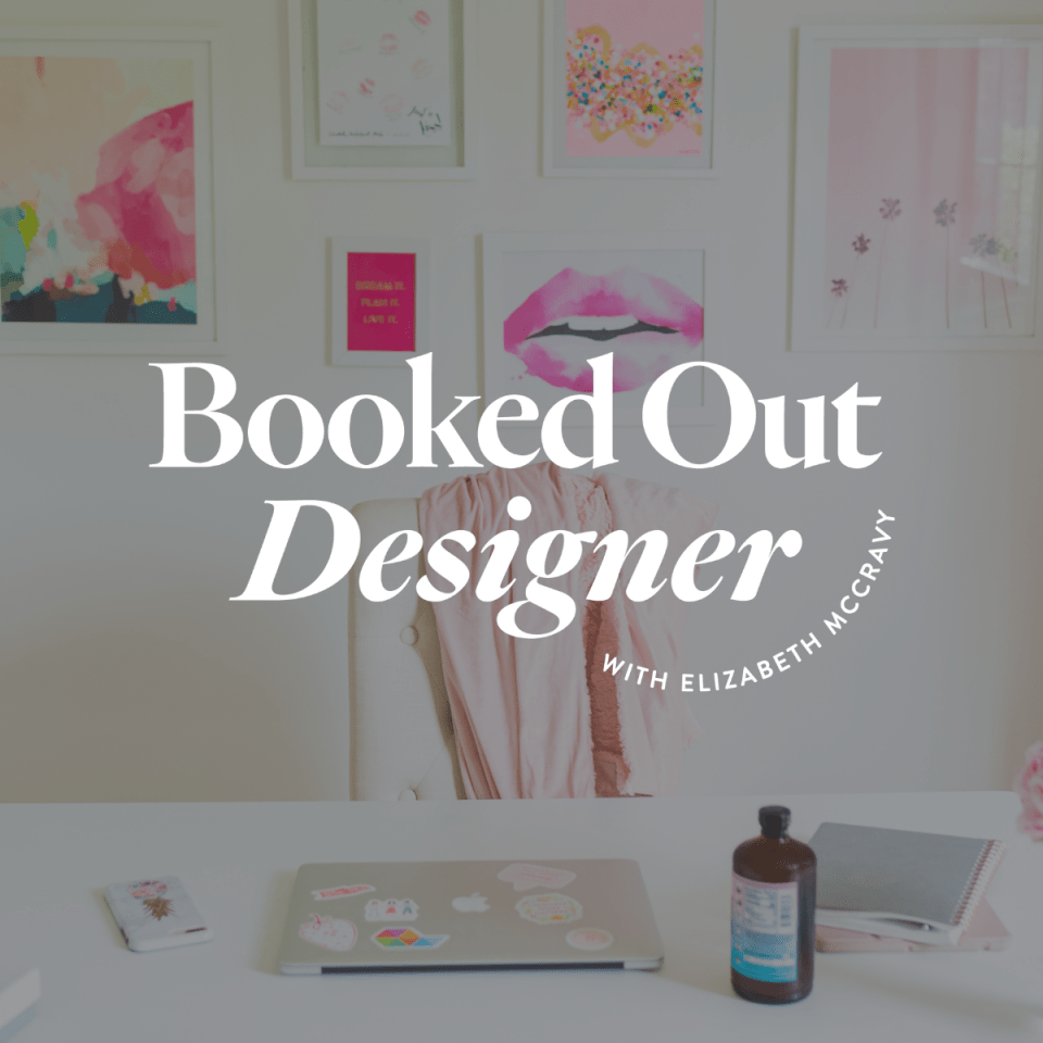 Join Booked Out Designer from Elizabeth McCravy.