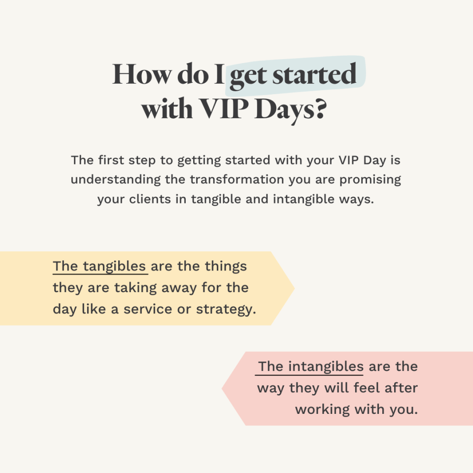 """""""How to get started with VIP Days"""" - Jordan Gill"""