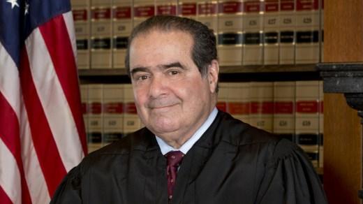 foto del juez Antonin Scalia