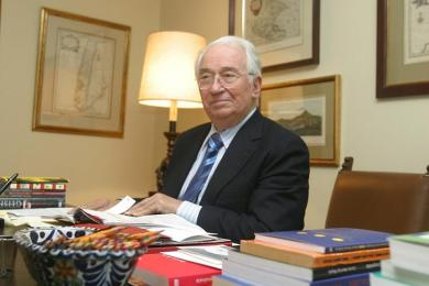 foto Belisario Betancurt Cuartas, expresidente de Colombia
