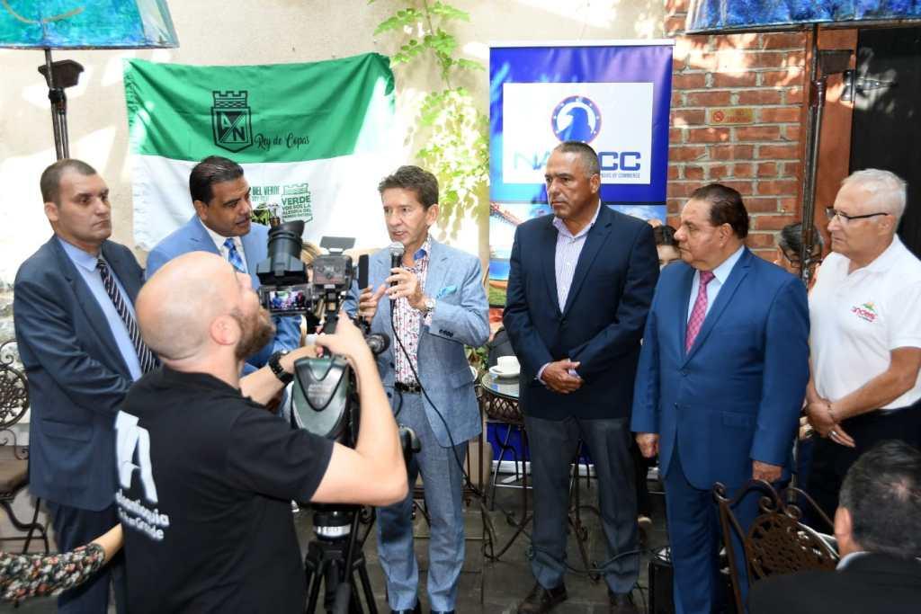 foto El Gobernador de Antioquia con representantes de las Cámaras de Comercio de Nueva York.