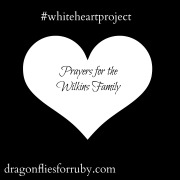 White Heart for Wilkins Baby