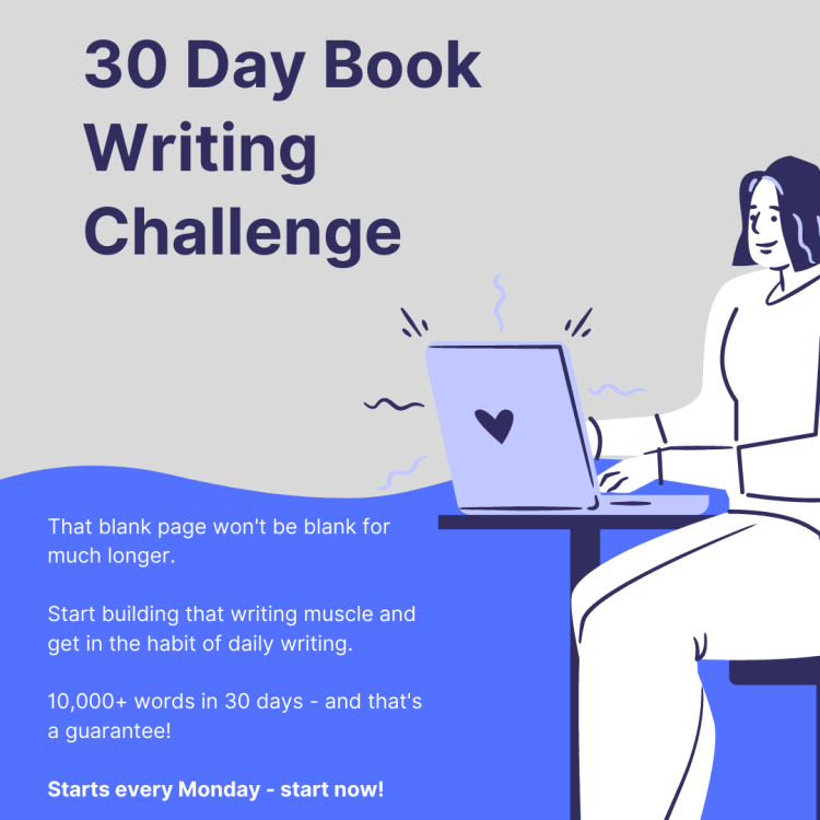 30 day book writing challenge
