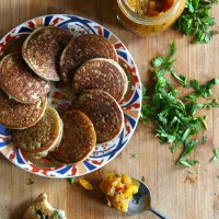 Uttapam - Fermented Whole Grain Pancakes from South India