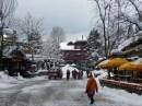 Main thoroughfare in Whistler Village