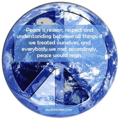 peaceisreasonrespectunderstanding