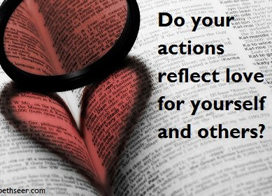 Do Your Actions = Love?