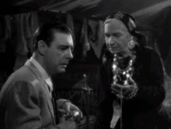 "The fortune teller from 1941's ""The Wolf Man"" starring Lon Chaney, Jr"