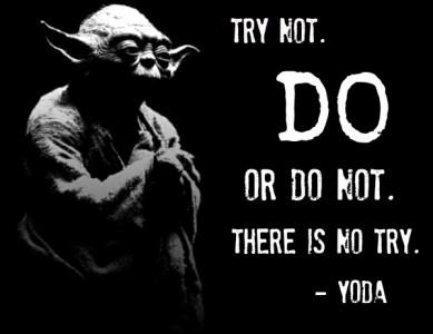 Trying vs. Doing