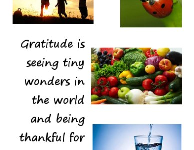 Witness and be Thankful