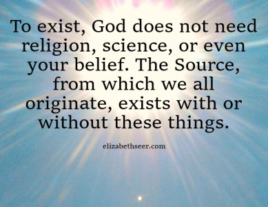 God's Existence Doesn't Need You