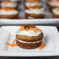 Good For You Mini Carrot Cakes