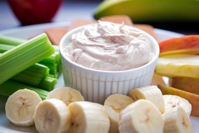 Creamy Peanut Butter Yogurt Dip