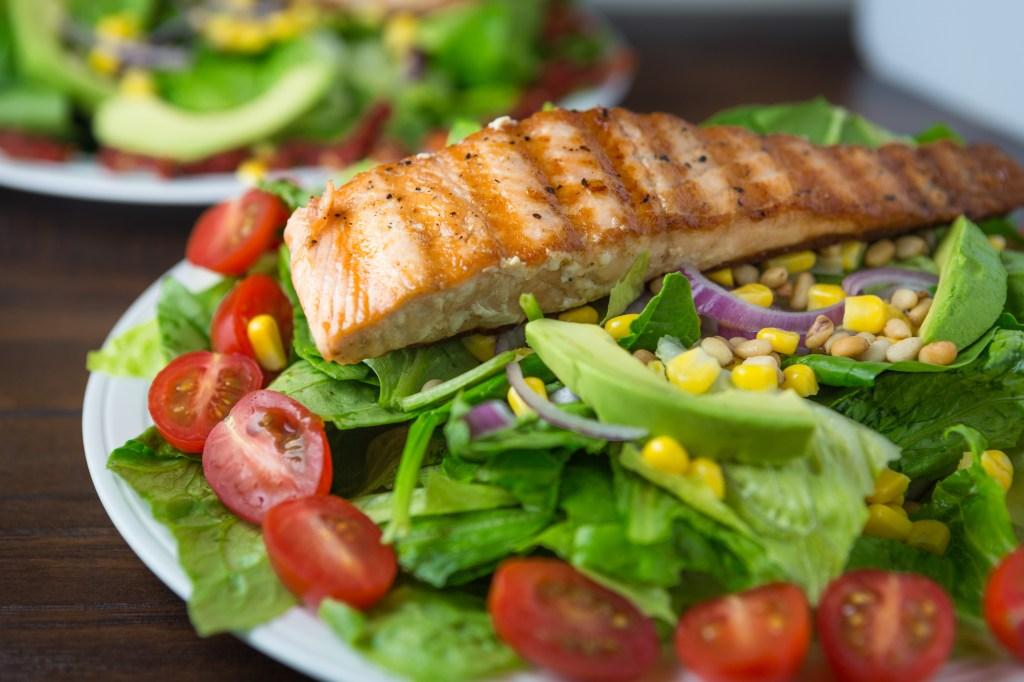 Salmon Salad Pork Pancakes-37