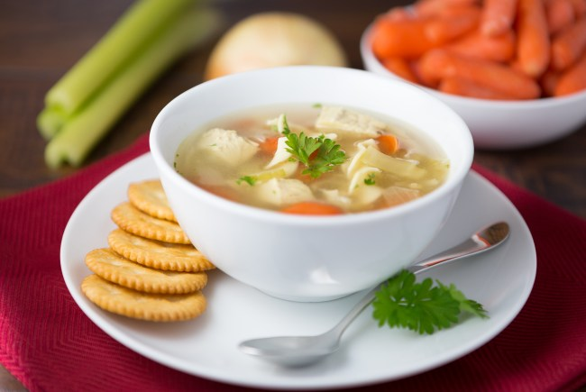 Healthy and Easy Chicken Noodle Soup