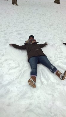 Central Park Snow Angel