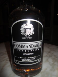 """Etko Commandaria """"Centurion"""" 1991 Vintage Cuvee"""