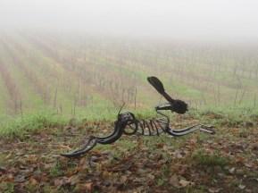 The Hare at Chateau Lestevenie, Gageac et Rouillac, Dordogne.